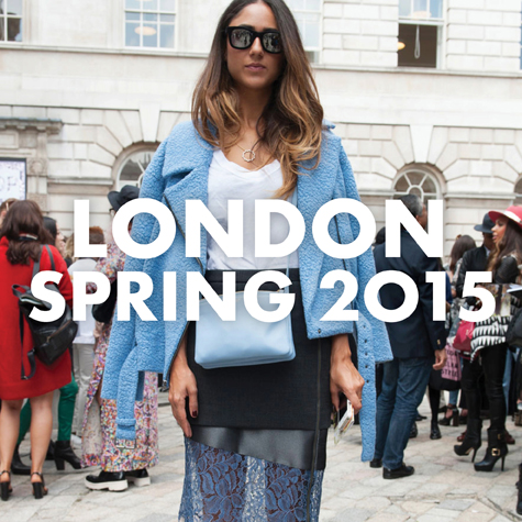 Best street style: London Fashion Week Spring 2015