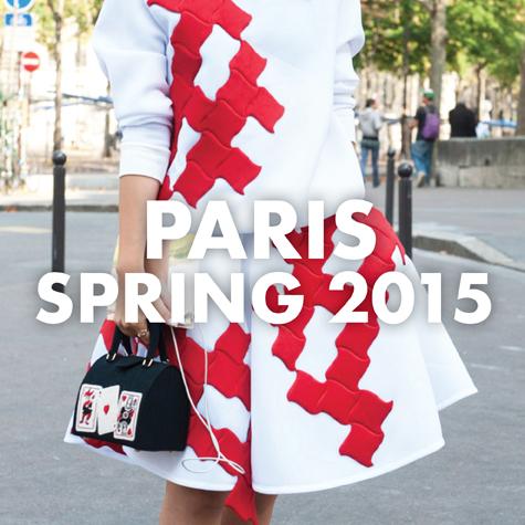 Best street style: Paris Fashion Week Spring 2015