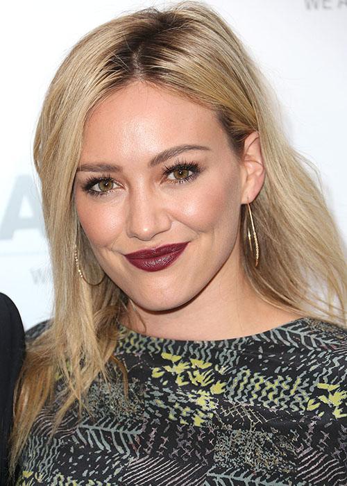 Blond ambition: Hilary Duff