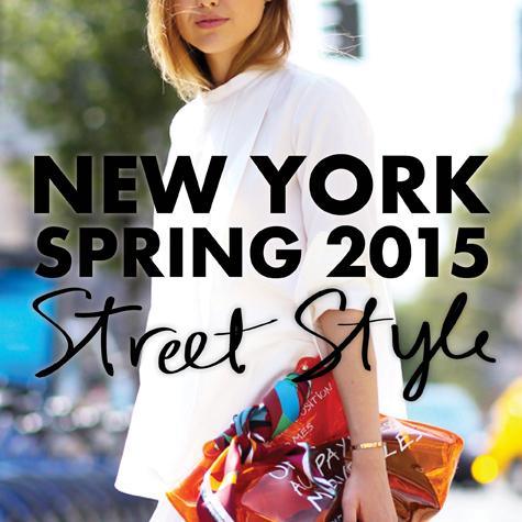 Best street style: New York Fashion Week Spring 2015