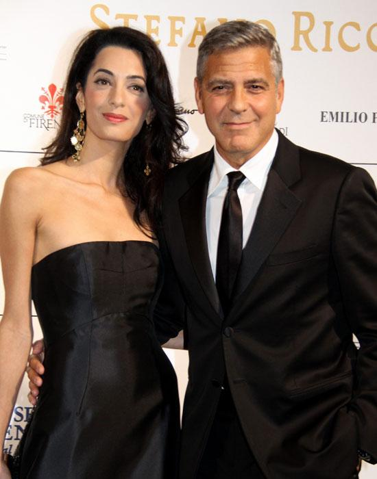 Best celebrity couple: Amal Alamuddin and George Clooney