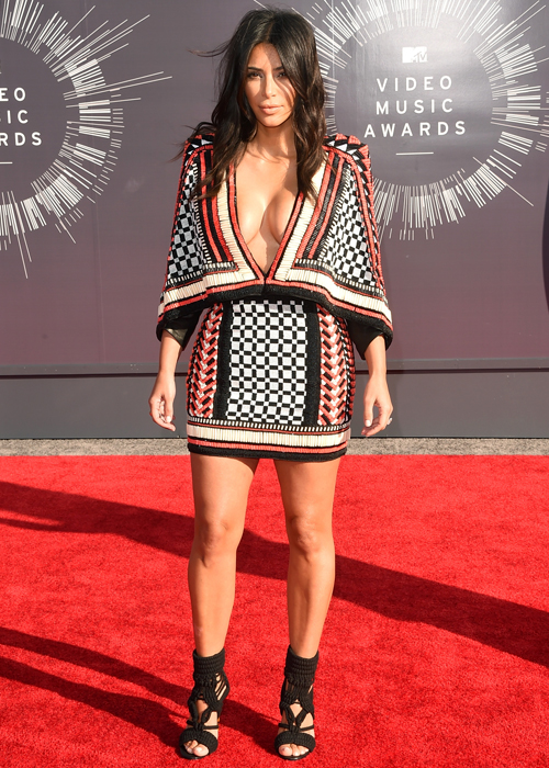 Kim Kardashian's craziest red carpet looks of all time