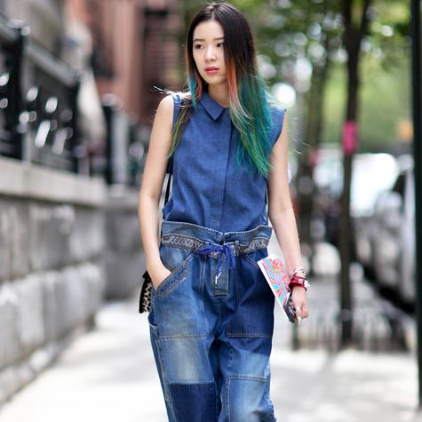 How to wear denim: Street style inspiration