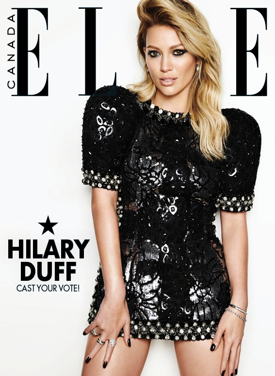 Elleca december 2014 cover