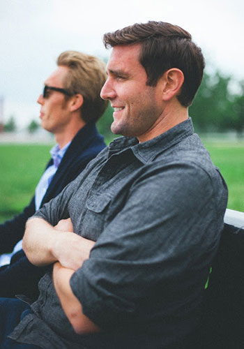 Travel Insiders: The Minimalists Joshua Fields Millburn and Ryan Nicodemus