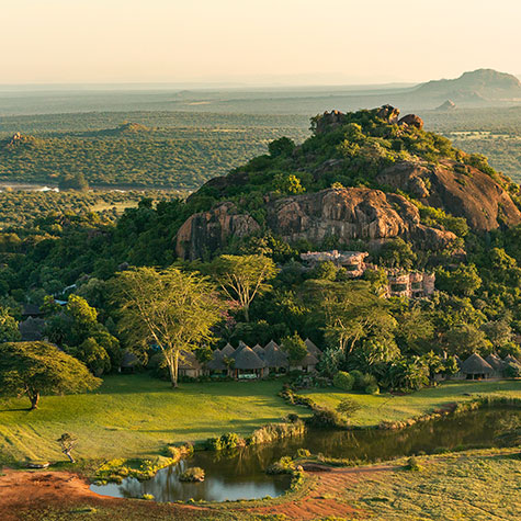 Kenya's poshest private safari getaway