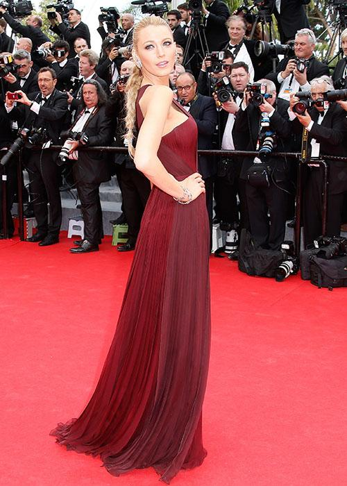Celebrity in marsala: Blake Lively