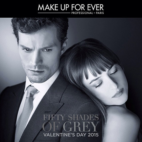 Make Up For Ever + Fifty Shades of Grey collection