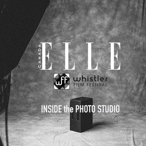 ELLE Canada's Whistler Film Festival Photo Studio 2014