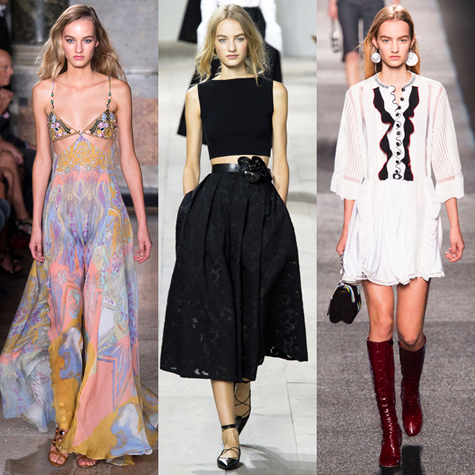 10 It models who dominated the Spring 2015 runways