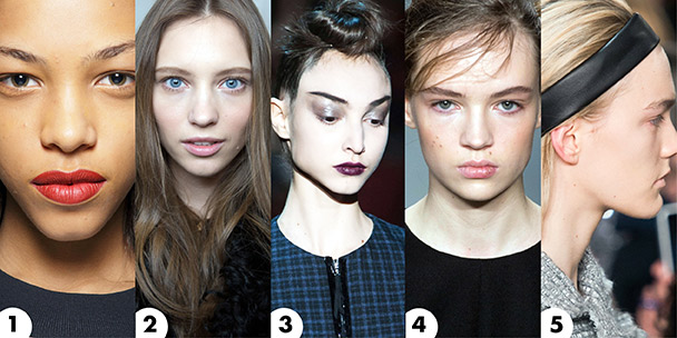 Beauty looks that caught our attention at NYFW 2015: Part 4