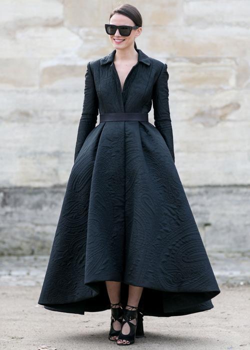 Looks inspirants vus à la semaine de la mode de Paris automne-hiver 2015