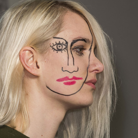 Beauty looks from days 1 and 2 of Paris Fashion Week