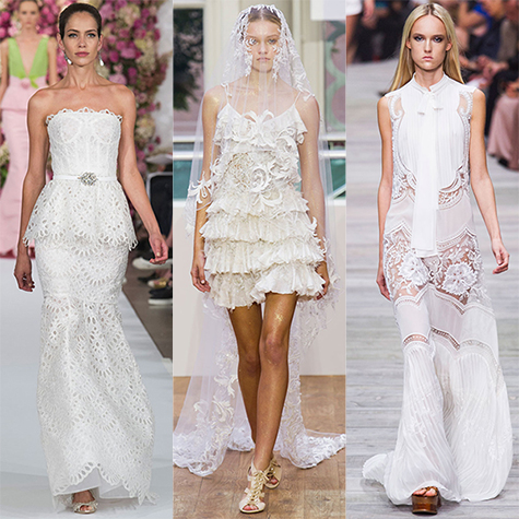 14 spring runway dresses you could actually wear to your wedding