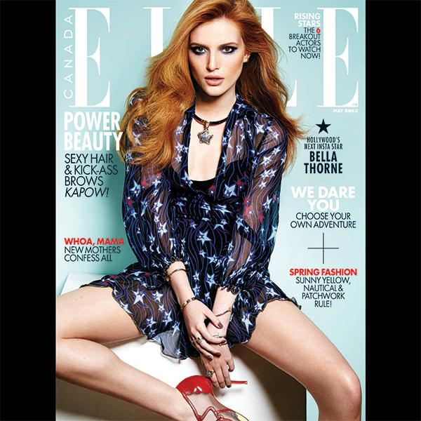 Get Bella Thorne's ELLE Canada cover look: The inspiration