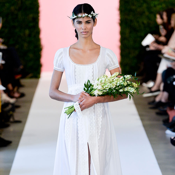 Our top 10 wedding dresses from Oscar De La Renta's 2015 Bridal 2015 collection