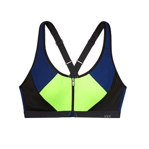 Our favourite workout bras: Zip-front