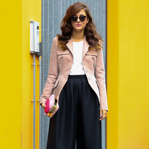 Culottes are tricky to wear. Here's how to pull them off this weekend