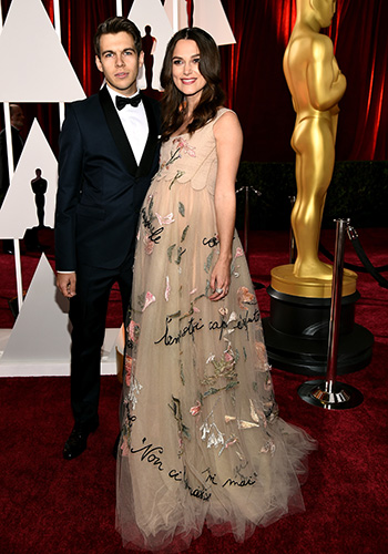 Keira Knightly has almost certainly had her baby