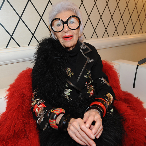 What to wear to the Iris Apfel documentary out this month