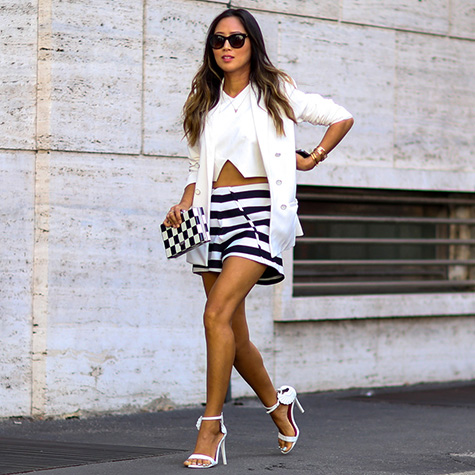 How to wear the crop top like a cool girl this weekend