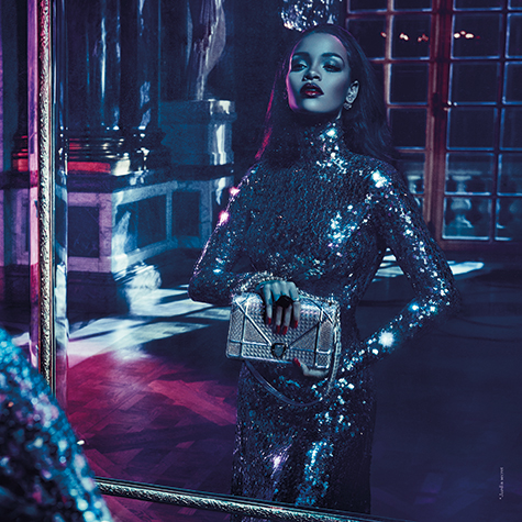 Rihanna stars in Dior's Secret Garden Campaign. And it's epic.