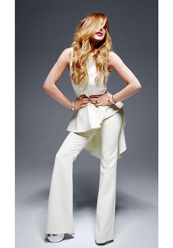 Lindsay Lohan: The next Victoria Beckham?
