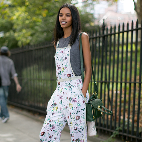 Overalls: The modern girl's little black dress