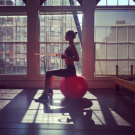 14 celebs working on their fitness game