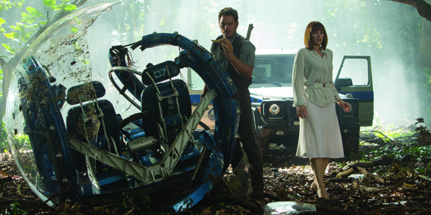 Bryce Dallas Howard talks stepping back and Jurassic Park