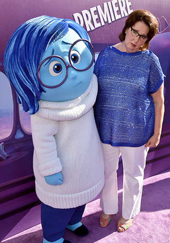 Talking sadness with Inside Out star Phyllis Smith