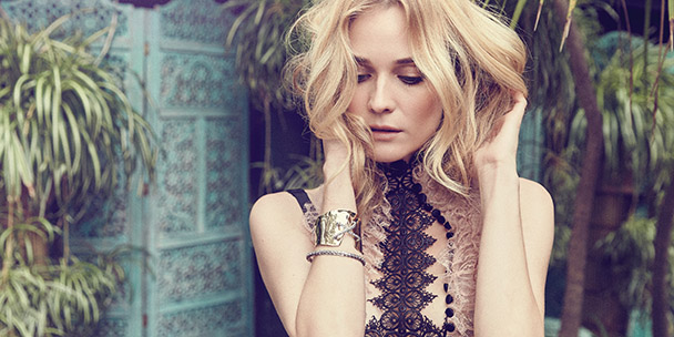 EXCLUSIVE: Behind the scenes video of our 3D shoot with Diane Kruger