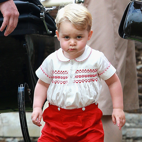 Prince George's 7 stages of accepting he's not an only child anymore