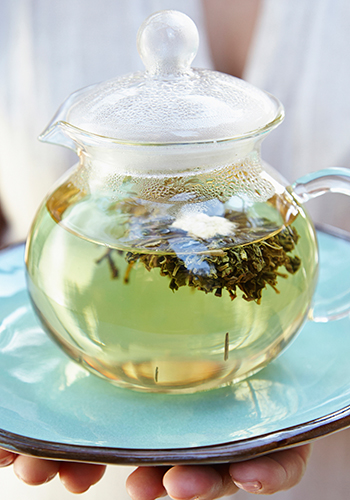 Smoke green tea to kick your nicotine habit?