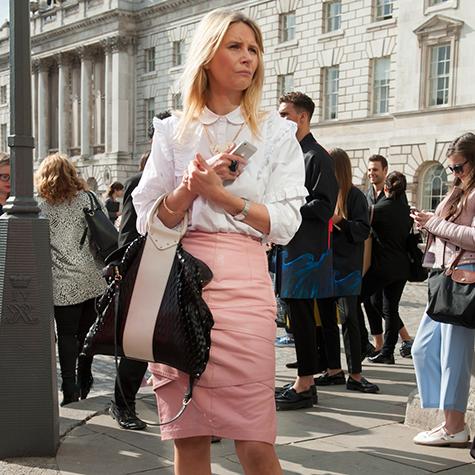 How to rock a pencil skirt like a fashion editor