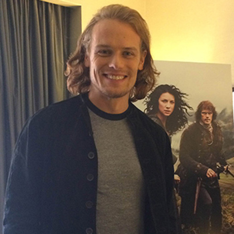 EXCLUSIVE: Outlander's Sam Heughan talks swashbuckling, red hair, and being unlucky in love