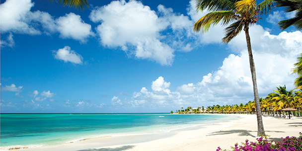 A perfect day at the beach: Antigua