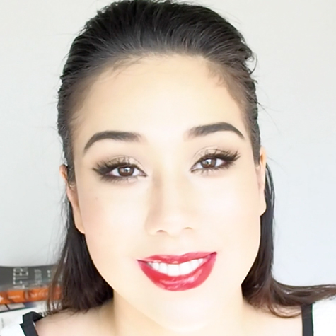 Beauty vlogger Marisa Roy shares the secret to a perfect red lip