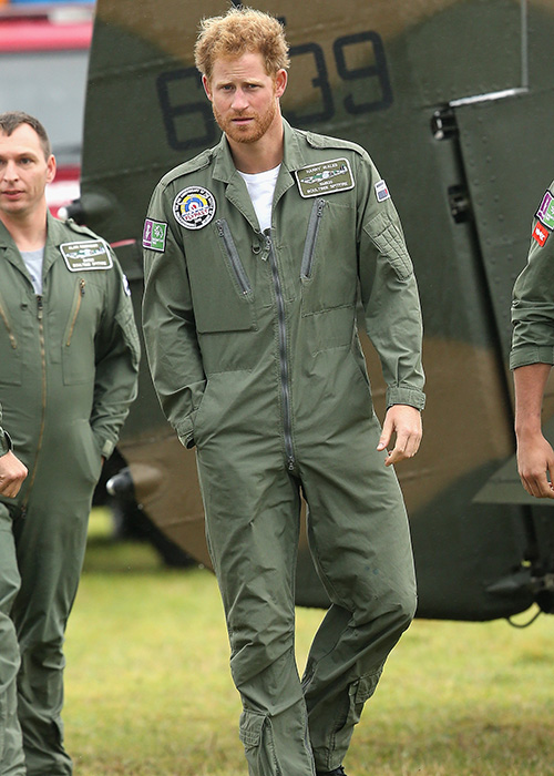 Prince Harry celebrates birthday with new facial hair