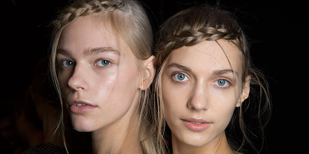 Get the look: The braided crown pony