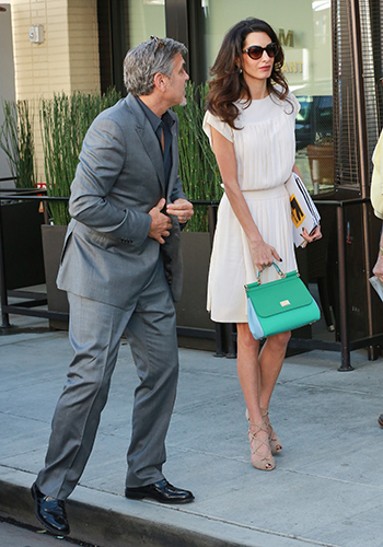 What to wear on a lunch date if you're Amal Clooney