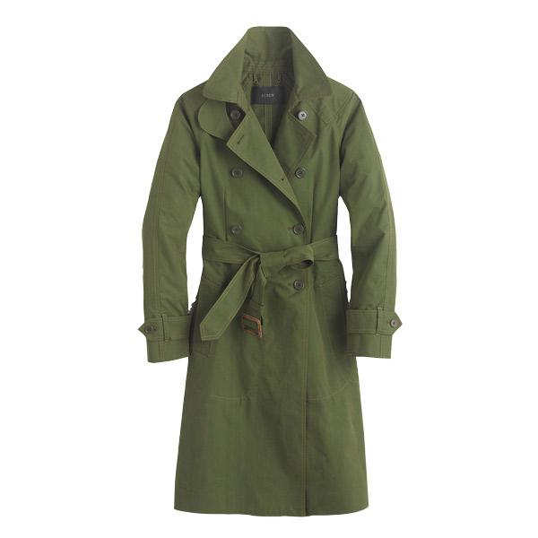 10 trench coats to get you through fall: J. Crew