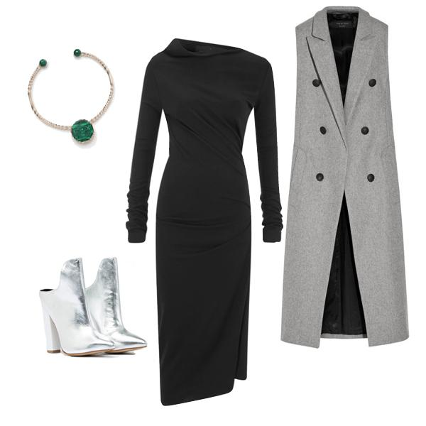 1 dress, 5 holiday party looks