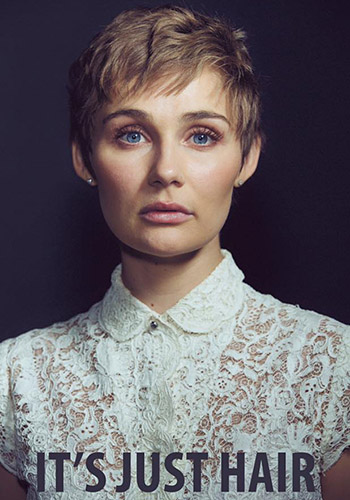 Nashville's Clare Bowen just chopped all her hair off. And that's just the start of the story...