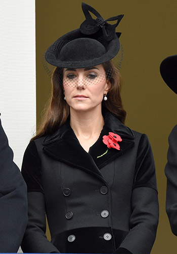 What Kate wore for Remembrance Day
