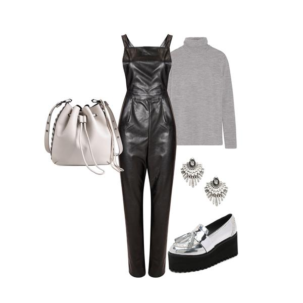 Leather overalls: Heavy metal