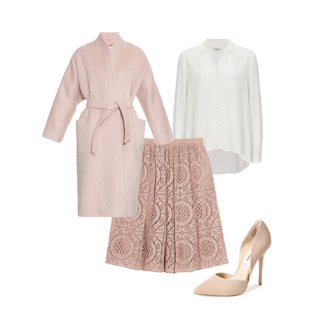 5 ways to wear lace to the office