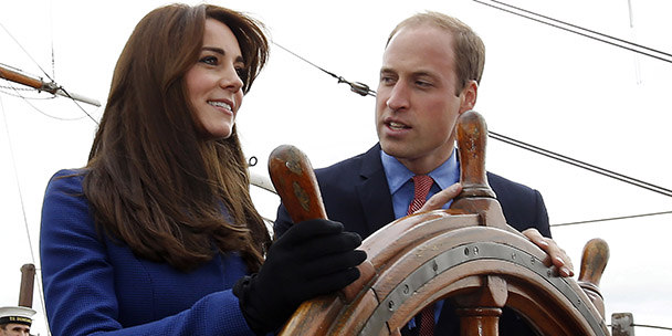 Will and Kate are heading to India!