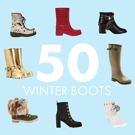 50 pairs of winter boots that don't suck