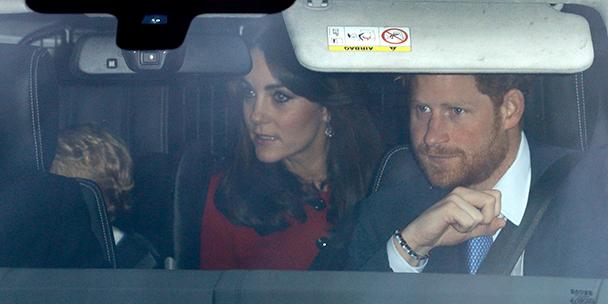 Prince George on his way to Grandma's house for Christmas!